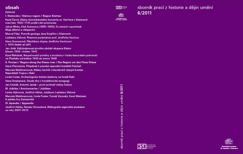 Sborník prací z historie a dějin umění 6/2011